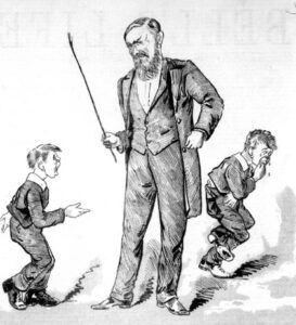 rigid forms of discipline in the past
