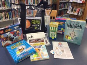 having storybooks in the classroom's mini-library