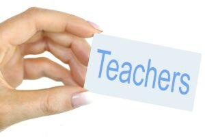 sharing insights as teachers