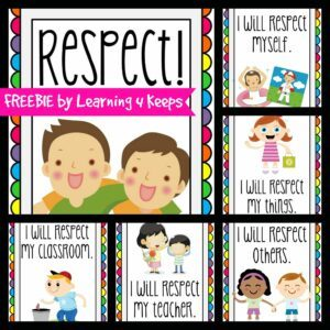 emphasizing respect in the classroom