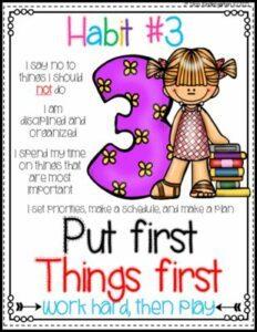 set meaningful habits