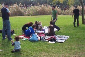 having school picnic