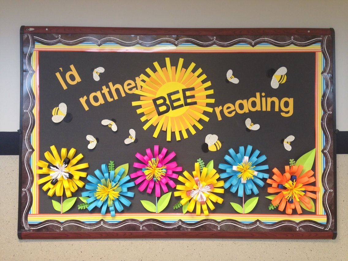 bee reading design