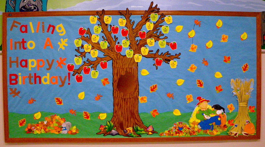 family tree for birthday bulletin board and other ideas