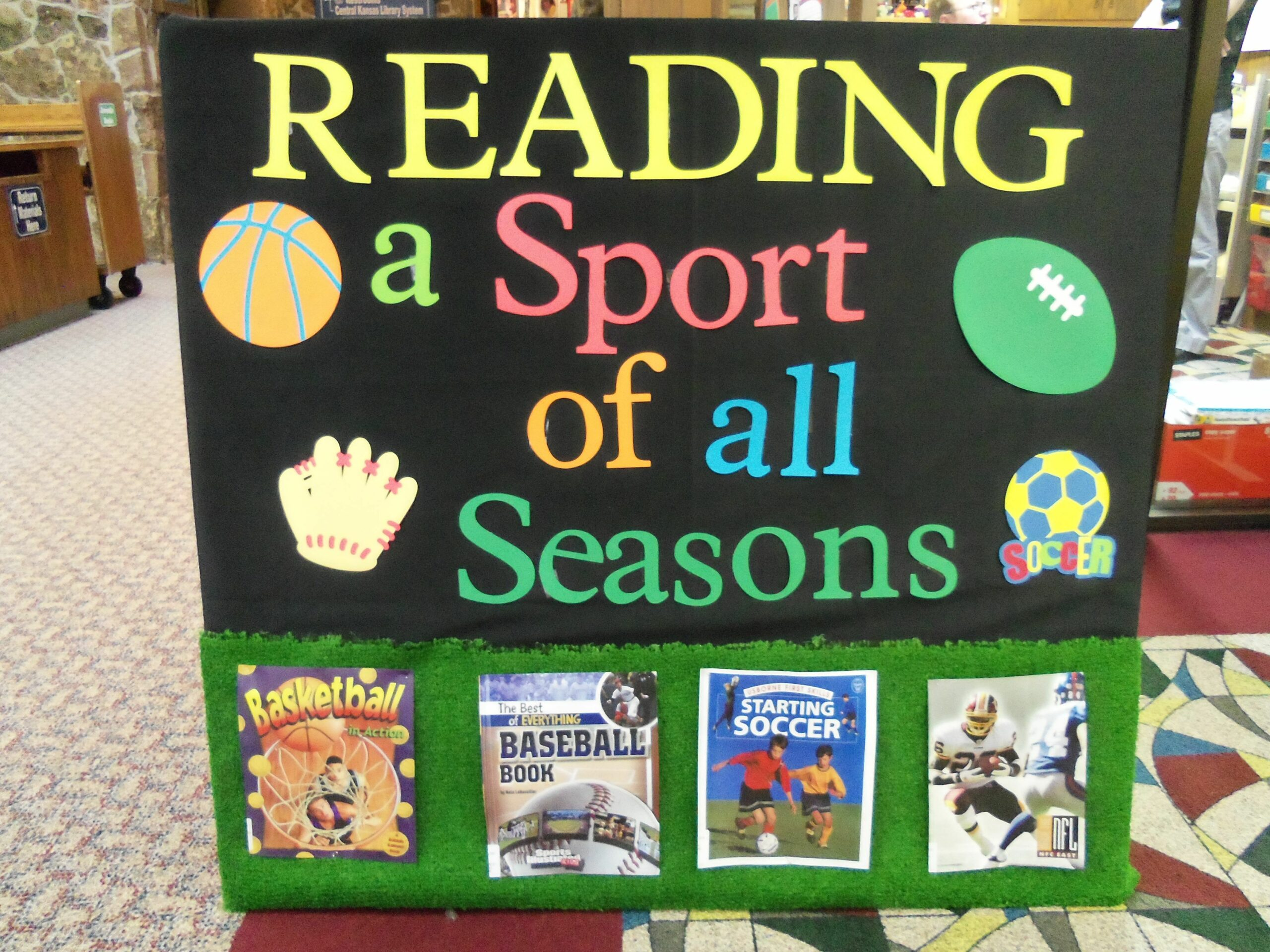 connecting reading and sports