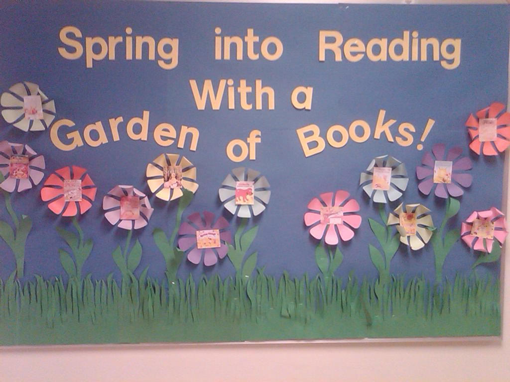 incorporating spring on the reading bulletin