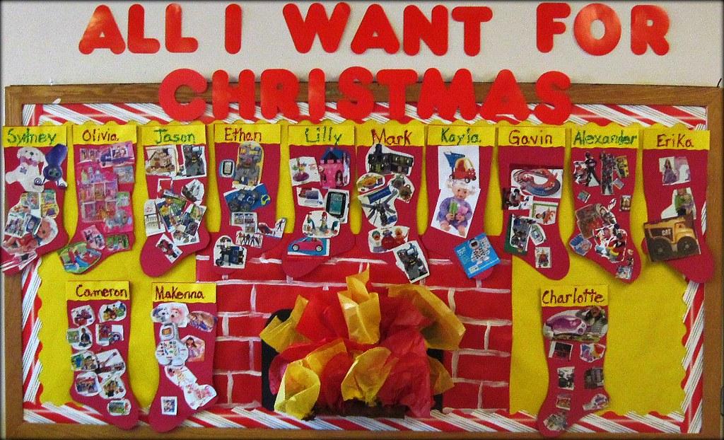 christmas bulletin board ideas for teachers