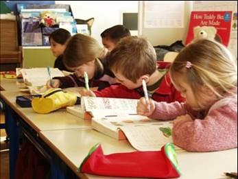 teach writing to elementary school