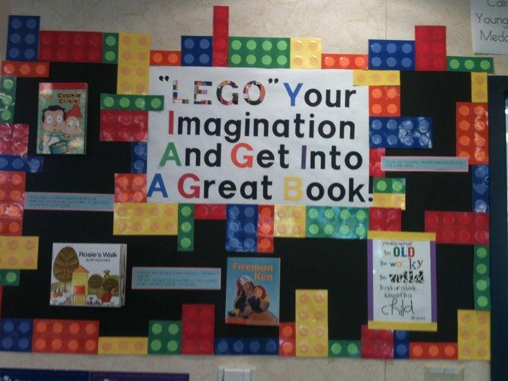 displaying lego world