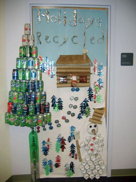 recycled christmas decor