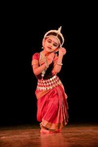 wearing goddess costume