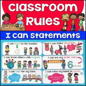 using 'I can statements'