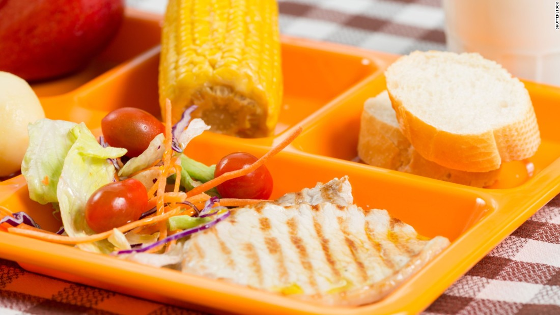 healthy school lunch packed with nutrients