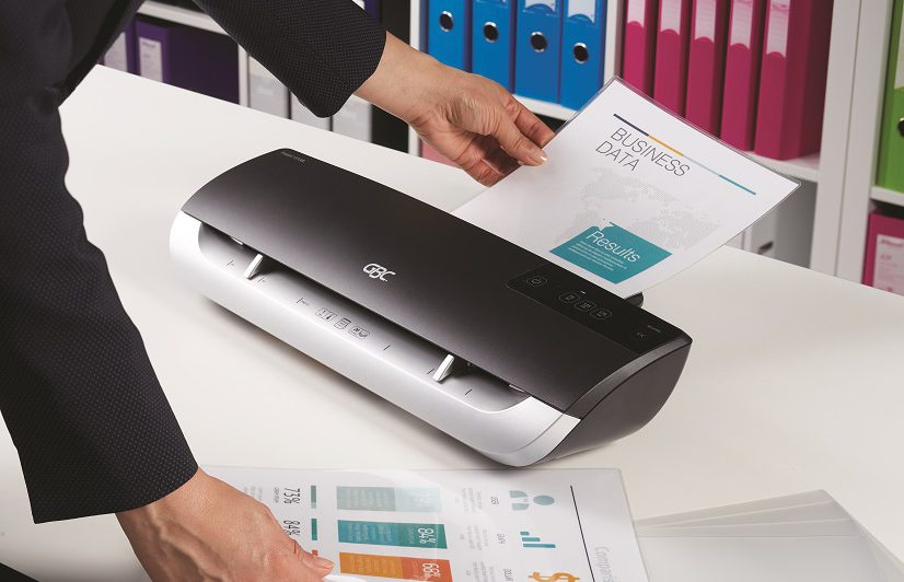 laminating a business data using the best home laminator for teachers