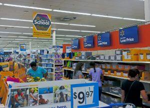 go shopping for classroom essentials