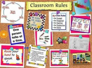 set clear and fair classroom rules