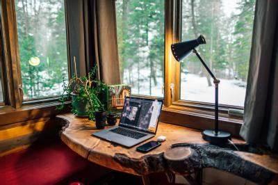 establish a quiet home office