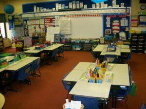 maintain an organized classroom