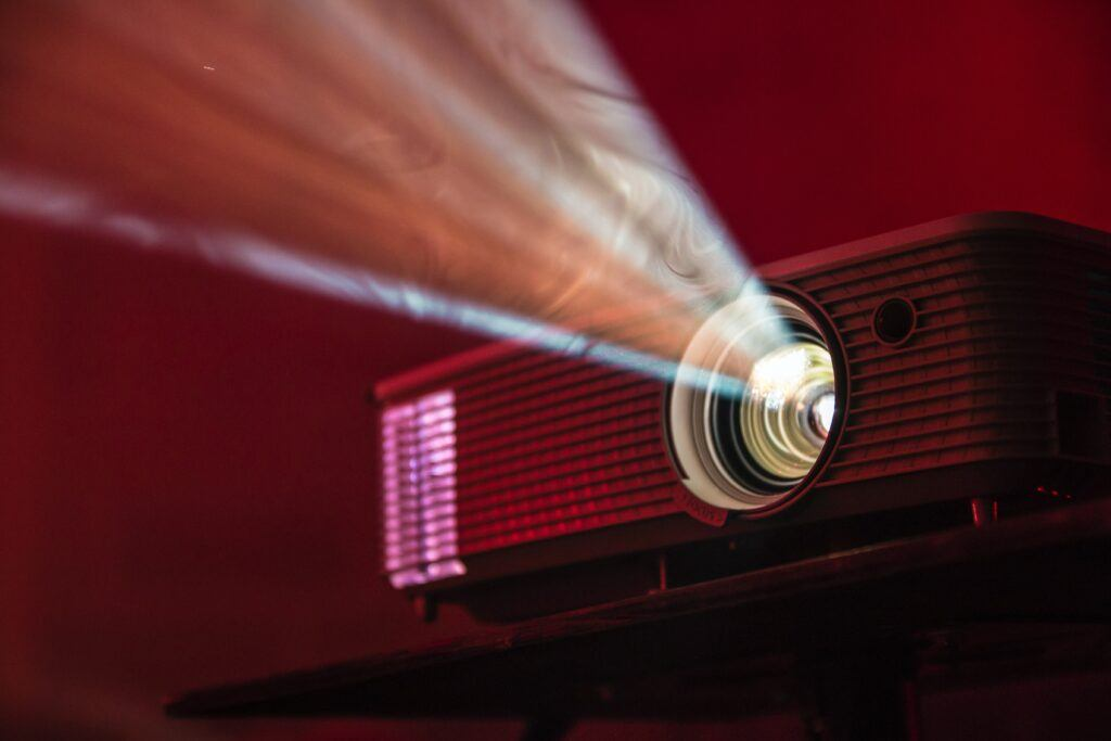 image of a projector
