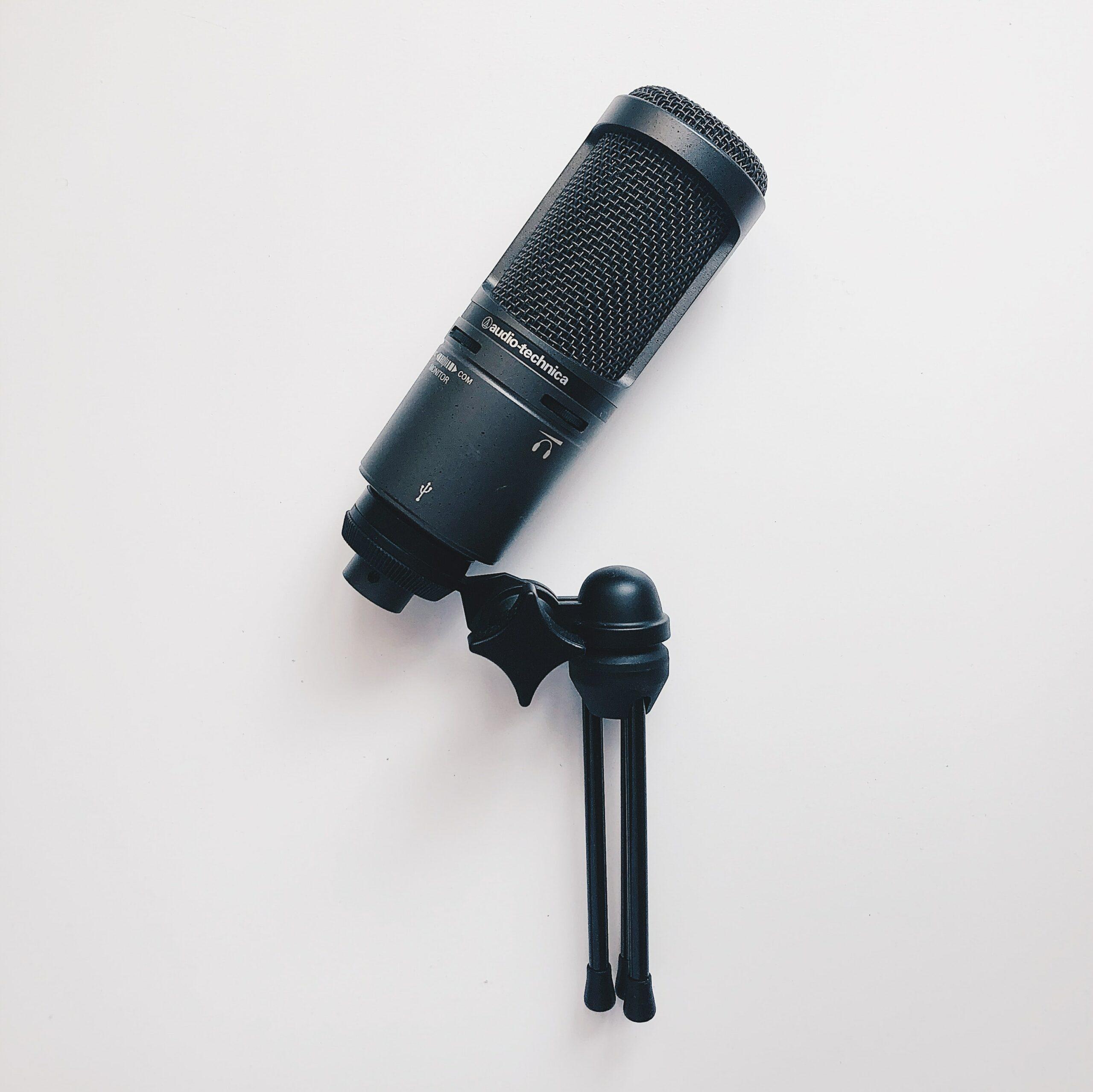 a black microphone for a teacher