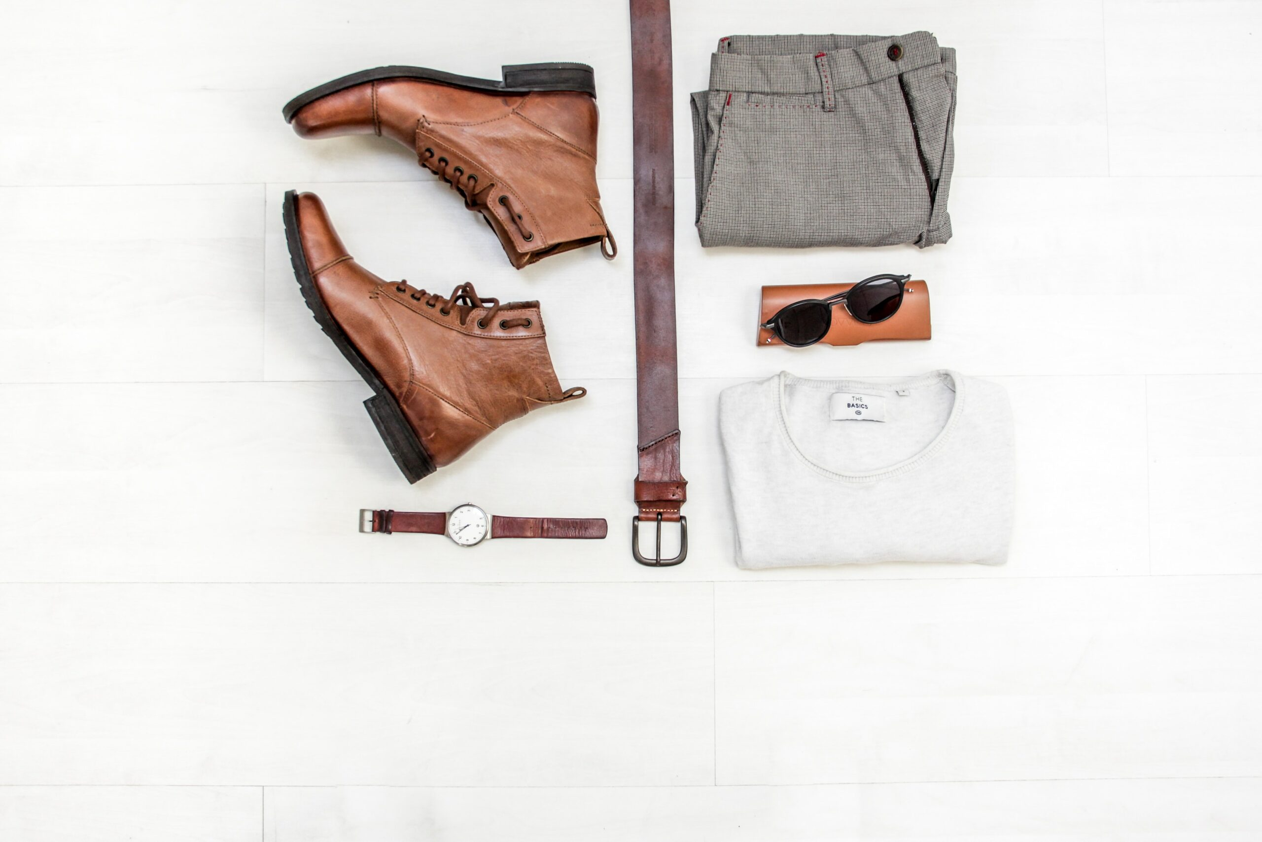 A set of outfit for male teachers