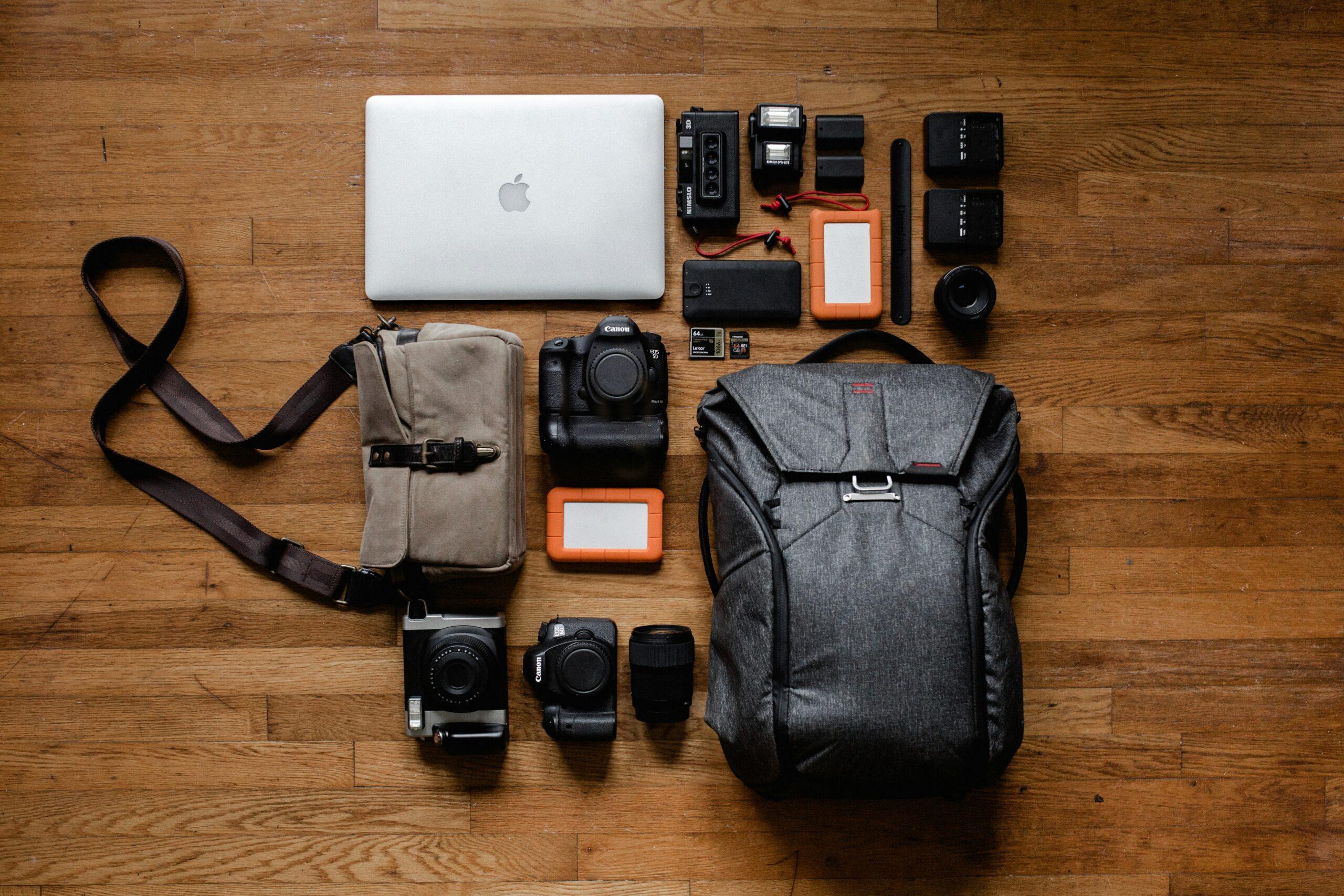 a teacher's laptop bag