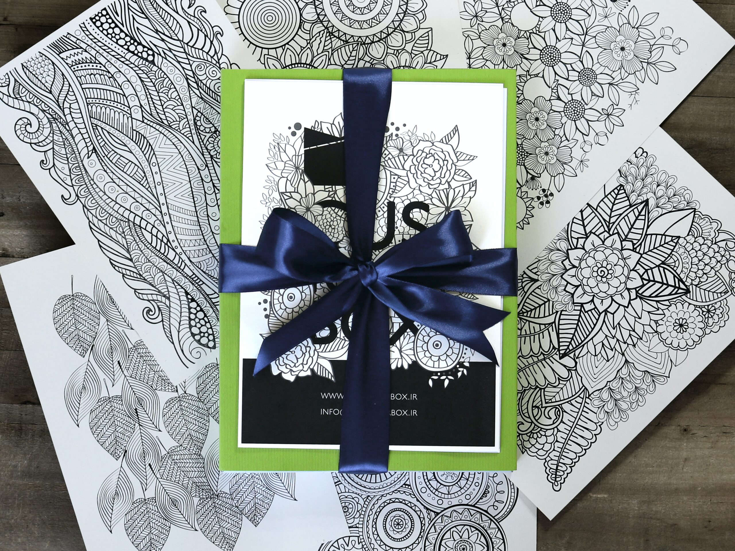 adult coloring books as a gift idea