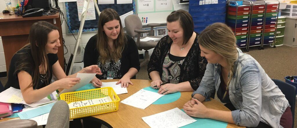 collaborating with other teachers