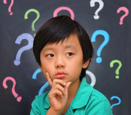 encouraging a child to ask questions