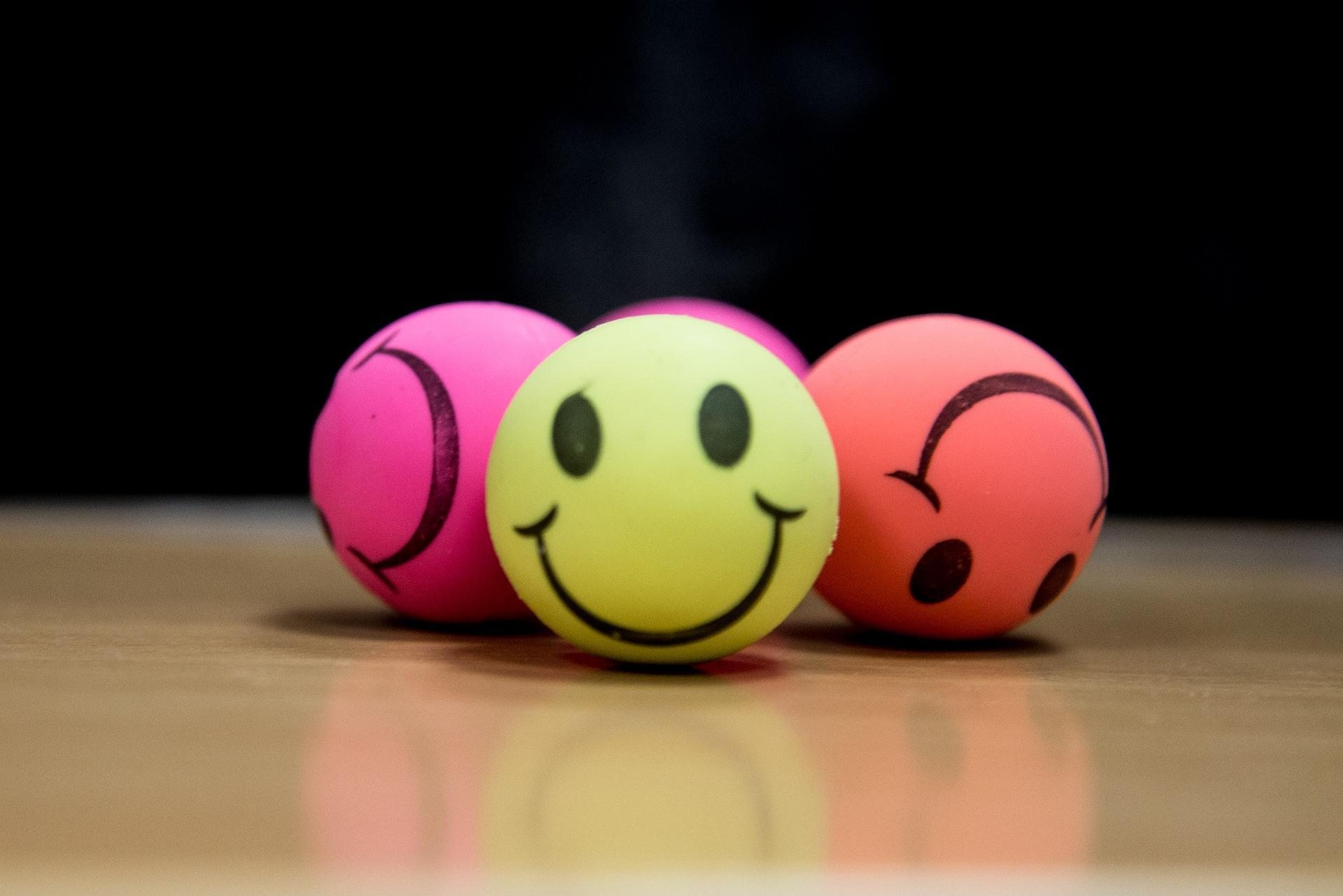 colorful stress balls
