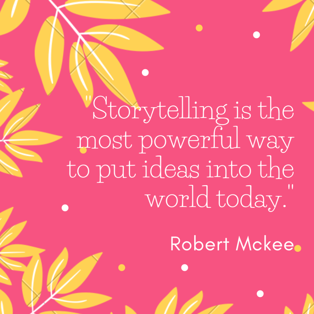 storytelling is an effective strategy