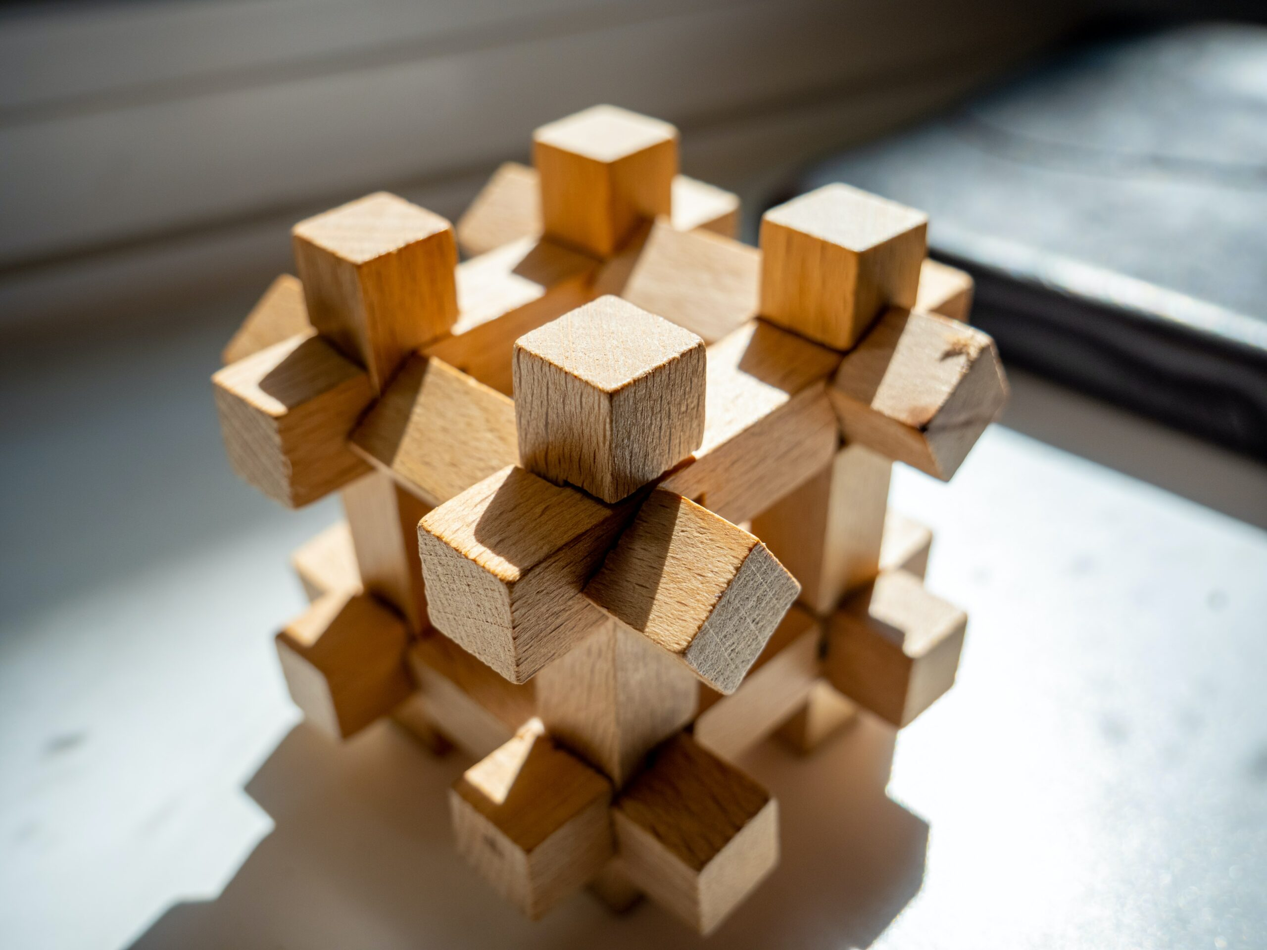 wooden block puzzle toy