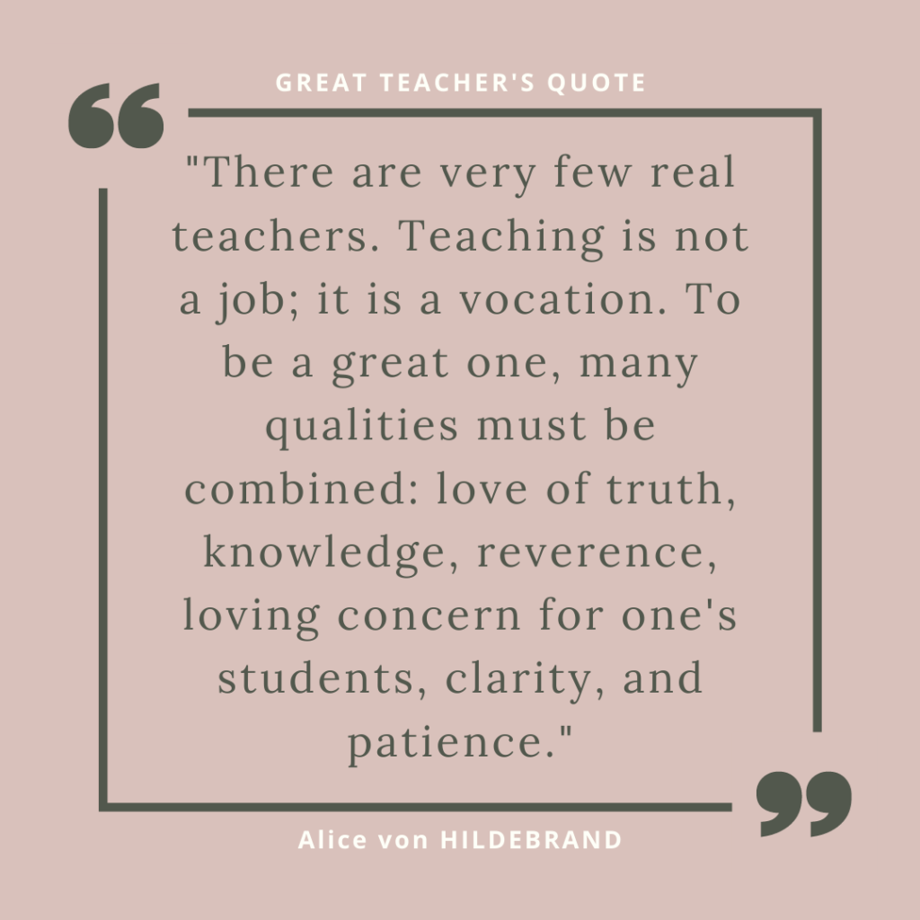 meaningful quote about teaching