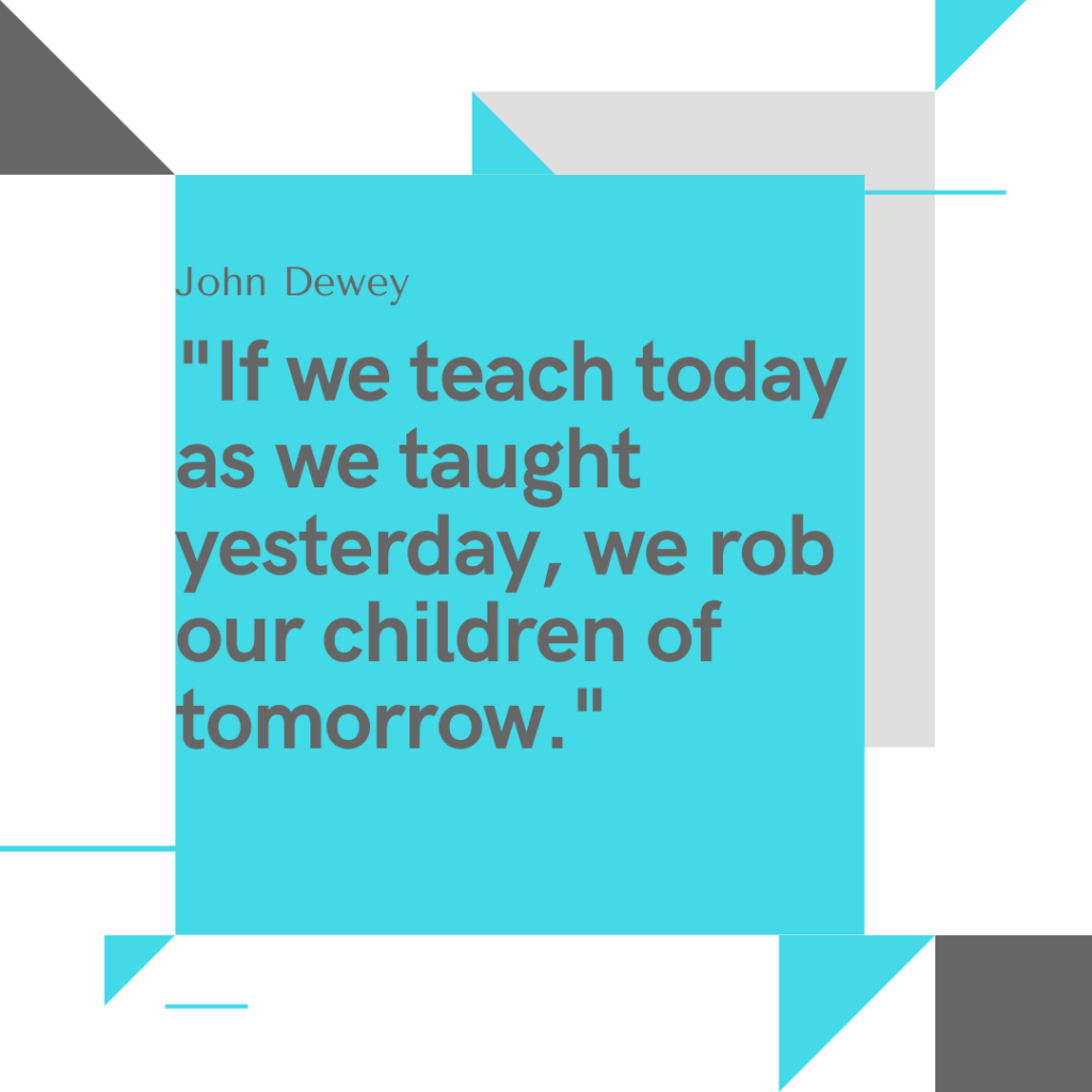 meaningful quote about technology in the classroom