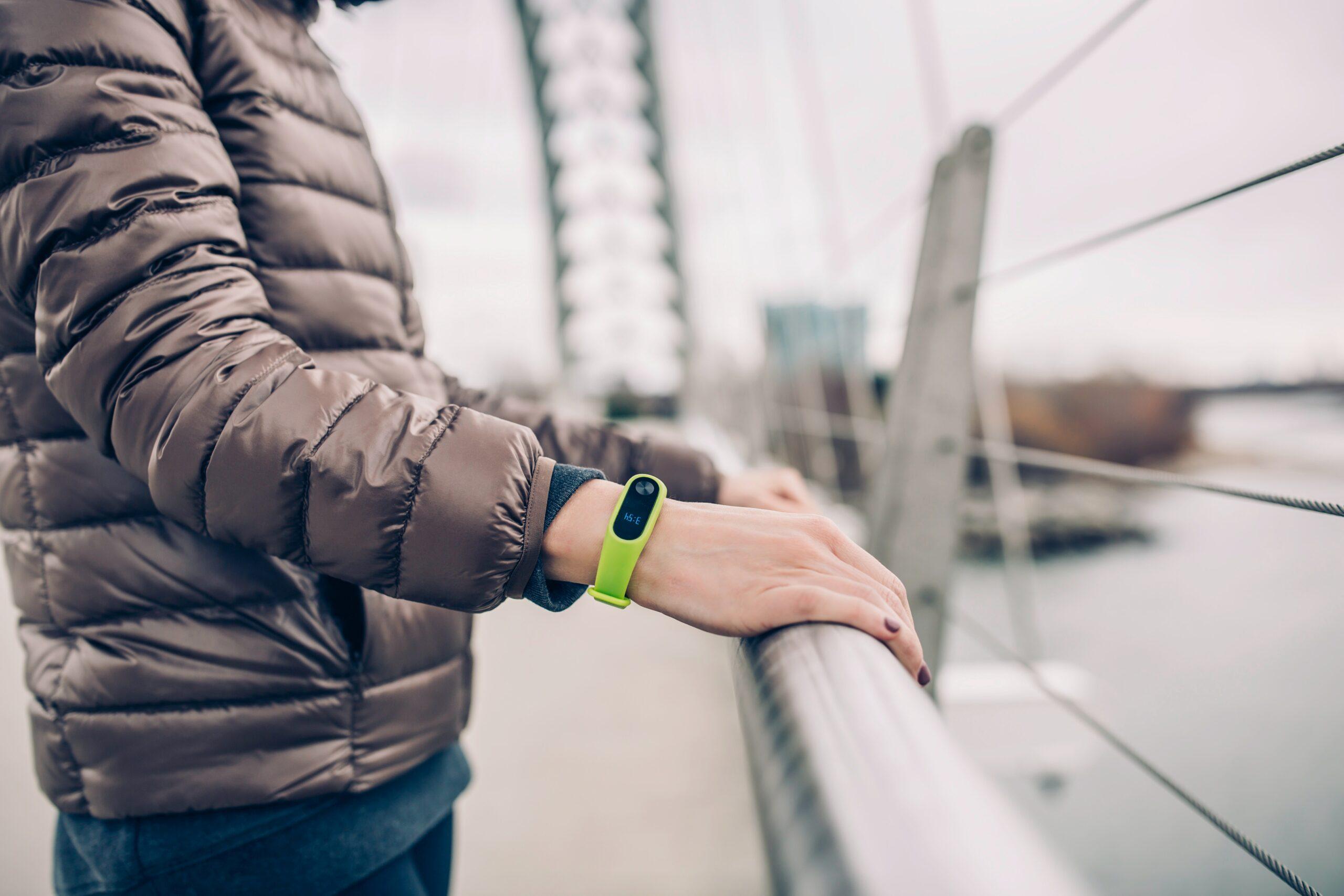 a fitness tracker watch