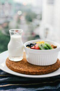 eating healthy diet